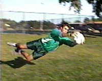 A Diving Save